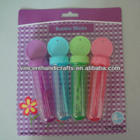 Funny colorful bubble sticks for kids
