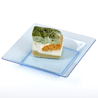 The hot sales food grade disposable square / rectangular / oblong dessert plate / tray for party, catering, hotel, wedding *
