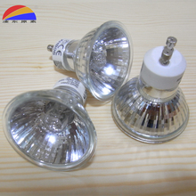 110V 130V 220V 240V GU10 Halogen Bulb lamp 35W to 50W 2000H lifetime