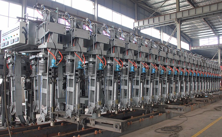 Joda Patent Automatic Rack Riser in Electrolysis Process of Aluminium