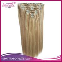 clip in brazilian hair extension real remy human hair extension 24 inch clip on human hair weft