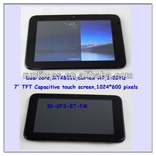 Marvalstar 7 inch MTK6577 Dual core tablet pc support 3G/ 2G GSM with Bluetooth/GPS/Phonecall full function phablet (MM781-4')