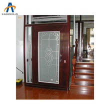 Small safety curtain elevator cheap home elevator prices