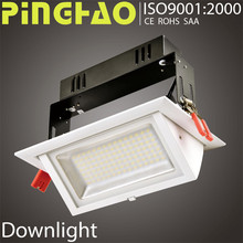 High power CRI>80 ROHS 15w 18w dimmable 5 years warranty cob led downlight