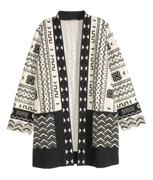 Japanese style No zipper and front pocket ladies Kimono cardigan