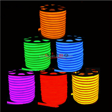 110v 220v neon strip light red blue yellow green warm white <strong>rgb</strong> outdoor best led flat neon flex rope tube light