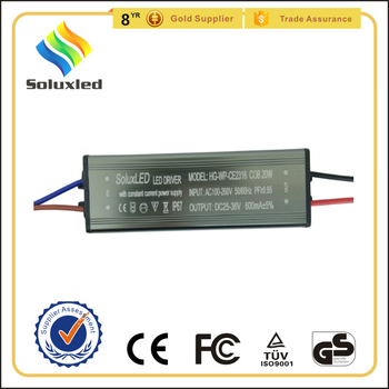 ip67 led driver 20w constant current ce certificate