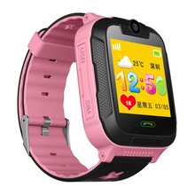 2018 hot product 3g waterproof camera smart gps kids safe watch