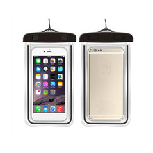 High quality pvc waterproof bag phone bag for mobile, waterproof mobile bag