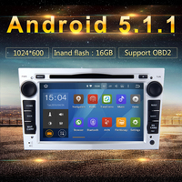 android 5.1.1 Car DVD GPS for Opel Vauxhall Vectra Astra H Antara Zafira Corsa Meriva Vivaro Quad Core 16GB Radio stereo car