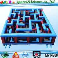 2015 inflatable maze,inflatable labyrinth maze,inflatable laser tag for adult