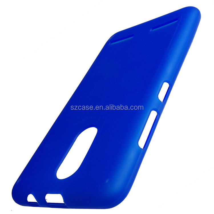 Jelly Soft Ultra Thin Dull Polish TPU Phone Cover Case for Lenovo K5 A6020