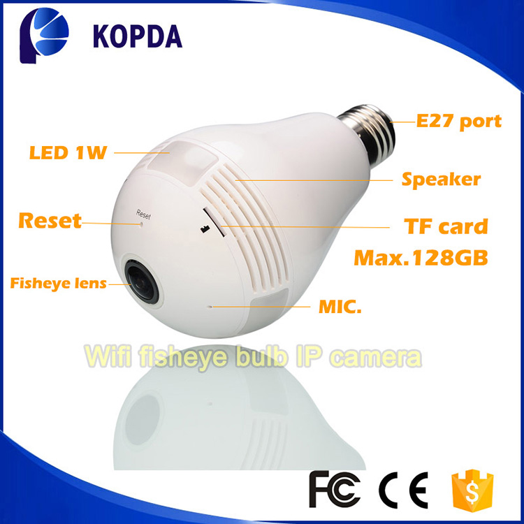 Sony CMOS IMX238 fisheye ip camera 360 degrees