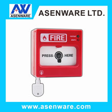 New arrival, 2 wire conventional fire alarm resettable manual push button