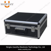 High Quality Extra Heavy Duty Black Aluminum Tool Box