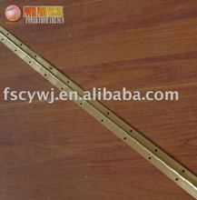 brass plated piano hinge long hinge