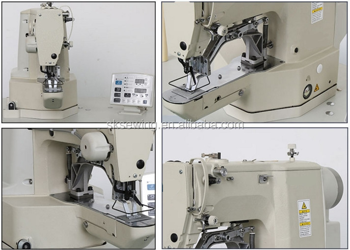 430D computerized bartacking brother shoes sewing machine