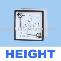 HEIGHT HOT SALE TF-2T96V/72V Panel Meter Voltmeter with high quality