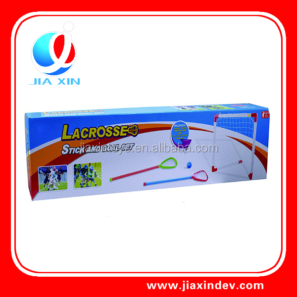 lacrosse stick and goal set Outdoor sport toys
