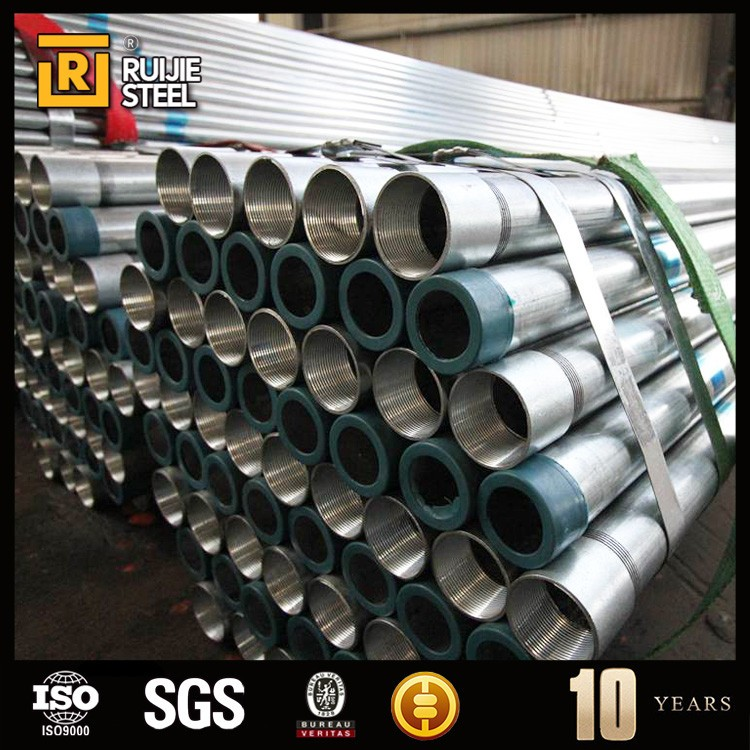 Galvanized Steel Pipe/GI Steel Pipe/HDG Steel Pipe pig iron