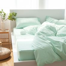 Wholesale Factory Direct Price 100% Cotton Seersucker Bedding Set