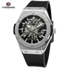 2016 fashion discount sales new designer forsining brand manual self -wind watches skeleton