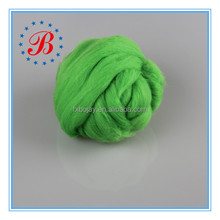 Wholesale 100% Merino Wool Roving for Hand Knitting 23mic-15mic