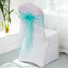 Romance universal chair organza sashes