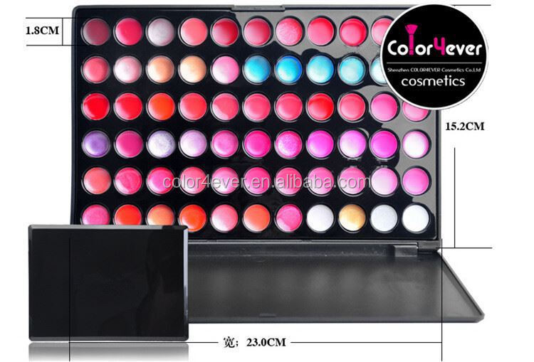 make up palette create your own brand long lasting lipgloss