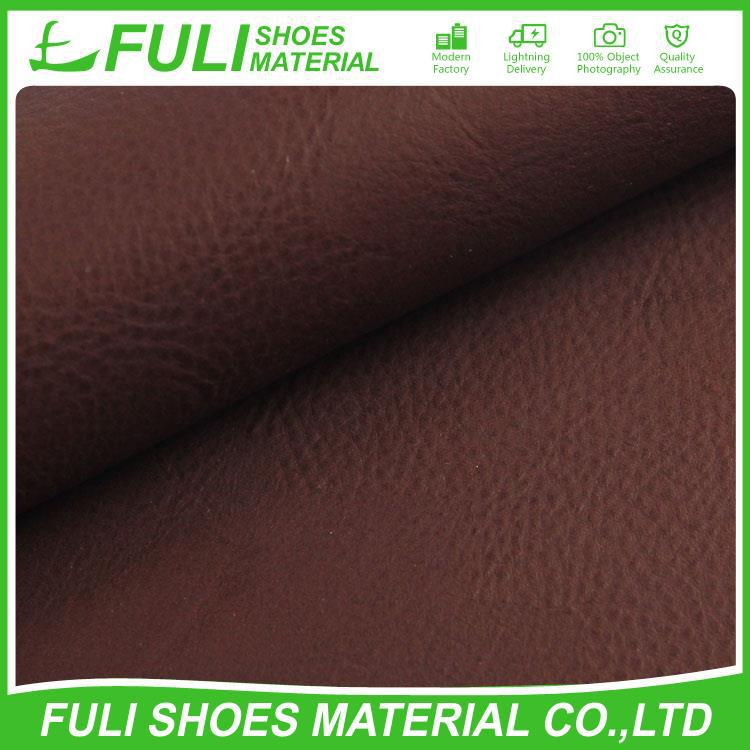 High Quality Fashion Cheap 100% Pu Embossed Synthetic Leather Material