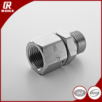 SS316 SS304 Male Female Hydraulic Union Fitting Galvanized Steel Pipe Fitting