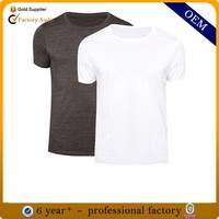 New model 100% cotton plain t shirts manufacturers in china