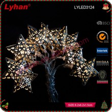 wholesale LED decorative metal star for Christmas home decoration