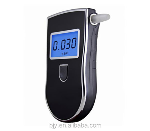 Alcohol Tester Professional Digital Portable Breathalyzer with Semi-conductor Sensor and LCD Display