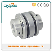 Double diaphragm coupling/screw/stepper motor/servo motor coupling