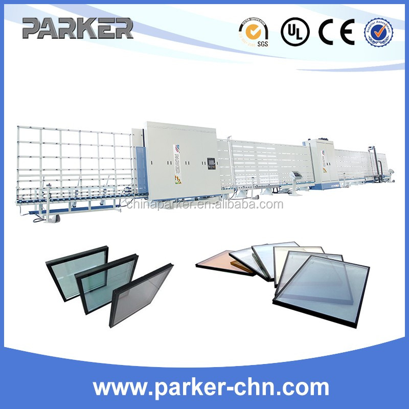 Efficient vertical hollow glass machine insulating glass machine double glazing glass production machine line IGV22S