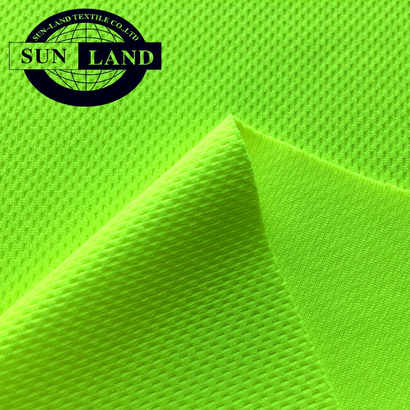 knit polyester cotton jersey fabric for sport polo cloth
