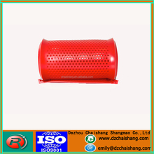 polyurethane/PU dewatering screen mesh plate mining rubber sieve panel with high tensile strength easy installation