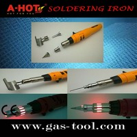 Colorful safety Long Life Butane Soldering Iron Pen