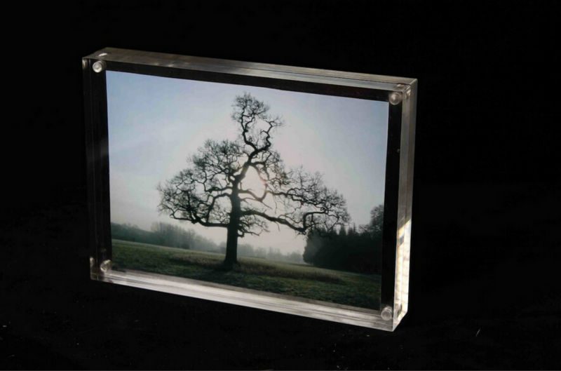 2014 new style acrylic photofunia/family tree photo frame/wall clocks with photo frame