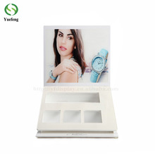 Factory Price Wooden and Acrylic Watch Shelf