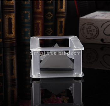 Crystal 3d display box holographic showcase for smartphone 3d holographic projectio foil