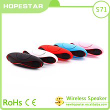 2017 new design1 year warranty CE ROHS bluetooth speaker portable mini