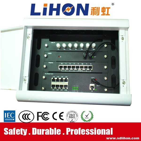 230*180* 80mm fiber optic multimedia information connection box