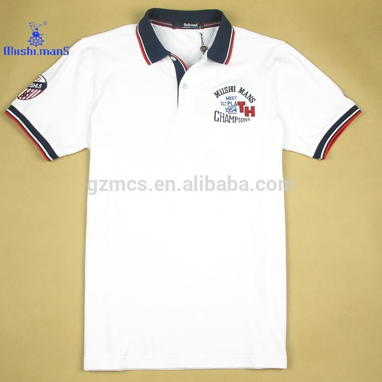 Custom New Fashion Men's Casual Fancy Polo t-Shirts For Sales