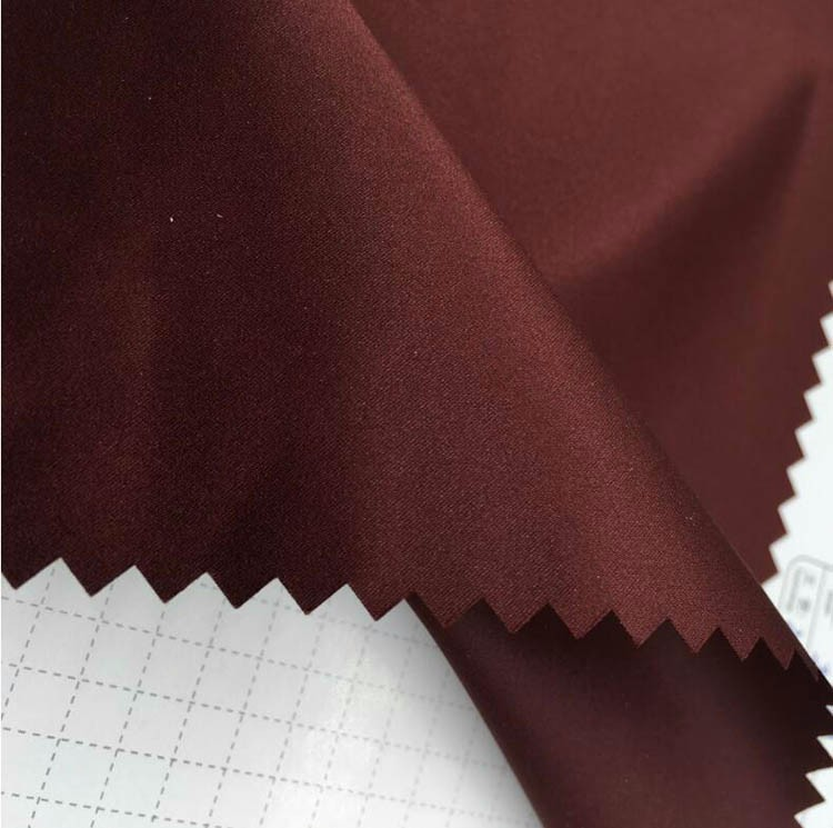 OEM accepted for home-use 100 polyester pongee lining fabric Flocked for Felt