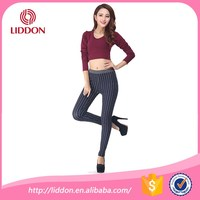 OEM top quality ladies trousers/ casual pants hot sell in alibaba