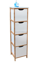 New Style Living Room Storage Shelf with 4 Drawers