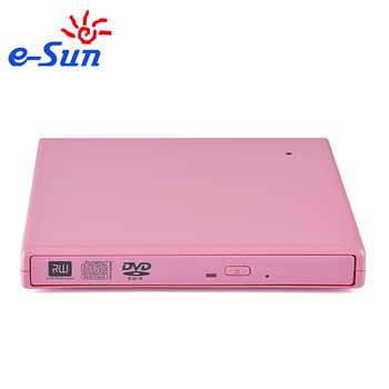 External slim USB 2.0 ide to sata external dvd writer Optical Drive burner