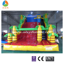 high quality industrial inflatable spongebob jungle water slide for sale